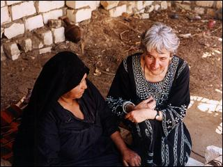JMH with weaver in Egypt