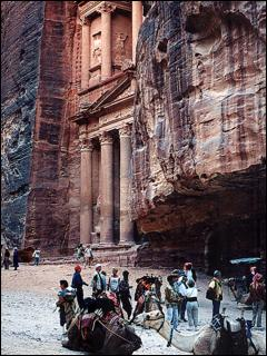 Treasury Building, Petra, Jordan